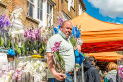 Columbia Road Flower Market Stock Images