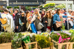 Columbia Road Flower Market Royalty Free Stock Image