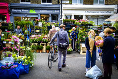 Columbia Road Market In London Royalty Free Stock Images