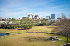 Columbia south carolina city skyline view from an overlook. Columbia south carolina city skyline view from  an overlook Stock Images