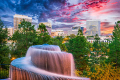 Columbia, South Carolina. USA fountain Stock Photo