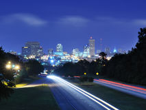 Columbia, South Carolina Skyline Royalty Free Stock Image