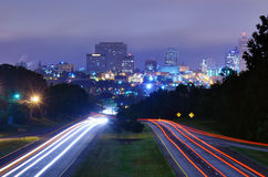 Columbia, South Carolina Skyline Stock Images