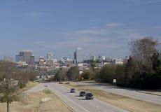 Columbia south carolina skyline. Distant view of the skyline of downtown Columbia, South Carolina Stock Photos