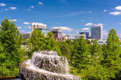 Columbia, South Carolina. USA at Finlay Park Fountain Stock Images