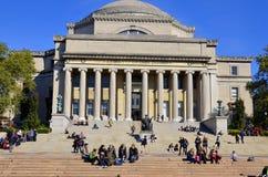 columbia universitetar arkivbild