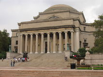 Columbia University. Main entrance of the Columbia University in NY Stock Images