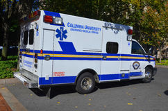 Columbia University Emergency Medical Service Stock Image