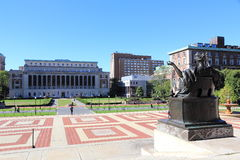 Columbia University. The famous Columbia University in New York Stock Images