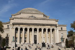 Columbia University Library Royalty Free Stock Photography