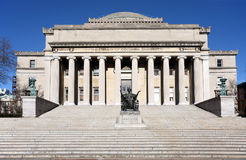 Columbia University Library Royalty Free Stock Photos