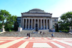 Columbia University Library Dome Stock Image