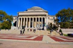 Columbia University Library Royalty Free Stock Photos
