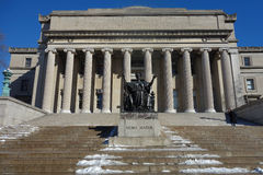 Columbia University in New York City Royalty Free Stock Image