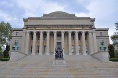 Columbia University Library, Manhattan, New York City. Columbia University Low Library in Upper Manhattan, New York City, USA royalty free stock photography
