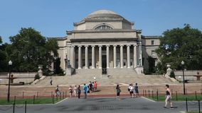 Columbia University stock footage