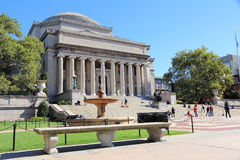 Columbia University in New York Stock Photo
