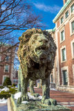 Columbia University. Of New York in winter Royalty Free Stock Images