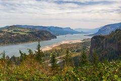 columbia wąwozu Oregon rzeka zdjęcia stock