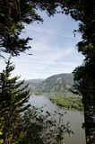 columbia wąwozu rzeka Oregon Pacific rzeka Obrazy Royalty Free