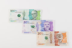 Columbiaans geld Royalty-vrije Stock Afbeeldingen