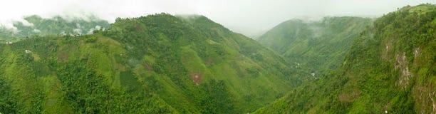 Columbiaans Landschap in de Andes Royalty-vrije Stock Foto