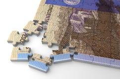 Columbiaans Peso'sraadsel royalty-vrije illustratie