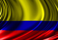 Columbian flag Stock Image