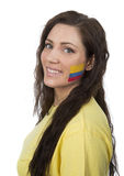 Columbian Girl Royalty Free Stock Photography