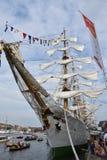 Columbian tall ship Gloria Royalty Free Stock Photos