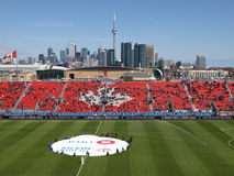 Columbo em Toronto MLS Pre-game fotos de stock royalty free