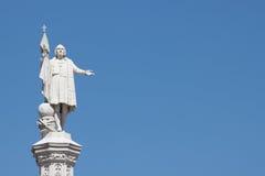 Columbus background Stock Image