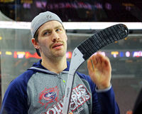 Columbus Blue Jackets Boone Jenner Royalty Free Stock Photo