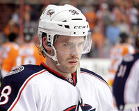 Columbus Blue Jackets Boone Jenner Royalty Free Stock Image