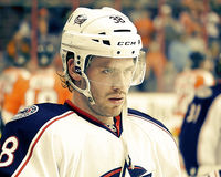 Columbus Blue Jackets Boone Jenner Royalty Free Stock Images