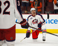 Columbus Blue Jackets Boone Jenner Stock Photography