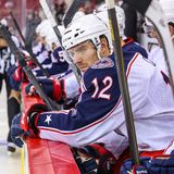 Columbus Blue Jackets center Ryan Craig Royalty Free Stock Photography
