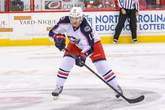 Columbus Blue Jackets center Ryan Craig Stock Images