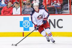 Columbus Blue Jackets center Ryan Johansen Royalty Free Stock Photo