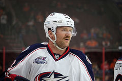 Columbus Blue Jackets [& Former Philadelphia Flyers] Scott Hartnell Stock Image