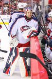 Columbus Blue Jackets goalie Mike McKenna Stock Photos