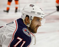 Columbus Blue Jackets Nick Foligno Royalty Free Stock Image