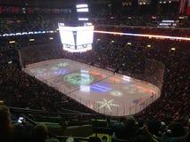 Columbus blue jackets Ohio ice hockey. The blue jackets taking on the New York Islanders at nationwide arena Stock Photography