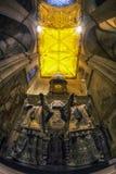Columbus burial tomb royalty free stock photos