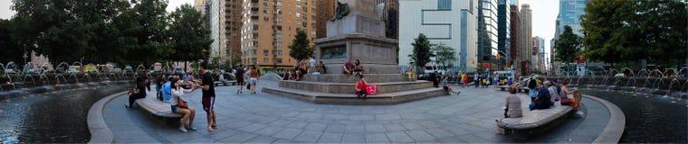 Columbus Circle lizenzfreie stockfotos