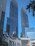 Columbus Circle em 2009 em New York City Imagens de Stock