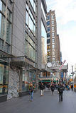 Columbus Circle em NYC, EUA Foto de Stock