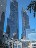 Columbus Circle i 2009 i New York City Arkivbilder