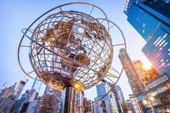 Columbus Circle i NYC, USA royaltyfri foto
