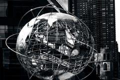 Columbus Circle in Manhattan New York Stock Foto's